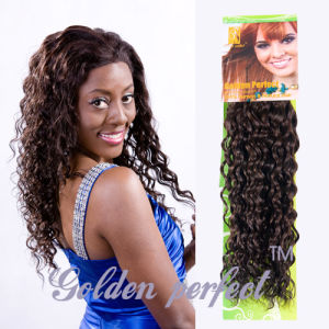 china high quality natural curly human hair extensions for