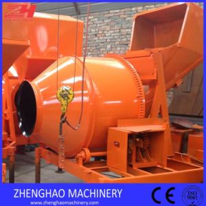 Self Loading Diesel Concrete Mixer with Hydraulic Hopper for Sale