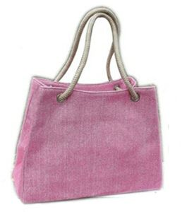 Fashion Canvas Handbags for Shopping (WH0088) pictures & photos