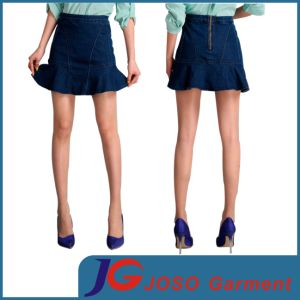 Women Denim Flare Skirts (JC2089) pictures & photos