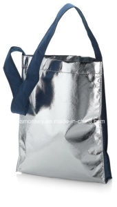 Non Woven Lamination Shoulder Bags with Long Belt pictures & photos