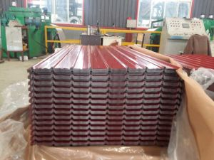 0.13mm-1.3mm Prepainted Corrugated Steel Sheets/Galvanized Steel Sheets pictures & photos
