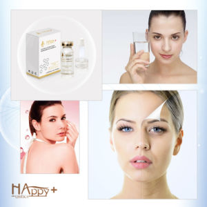 Super Moisturizing Plant Extract Happy+ Hyaluronic Acid Skin Care Serum pictures & photos