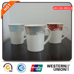 Coffee Mug Set with Flower Design pictures & photos