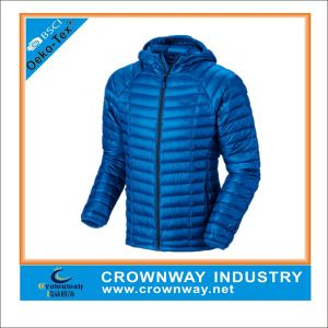 Men Lightweight Duck Down Winter Jacket with High Quality pictures & photos