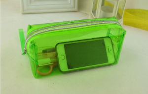 Transparent PVC Pencil Bag for Stationary and Cosmetics pictures & photos