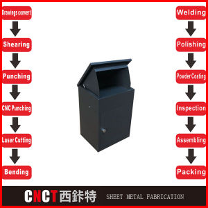 Outdoor Stainless Steel Parcel Mail Box pictures & photos