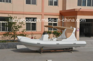20ft Liya Rib Oceanic Hypalon Motors Fiberglass Tender for Boat Mini Yacht pictures & photos