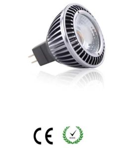 6W COB MR16 Gu5.3 Base LED Spotlight