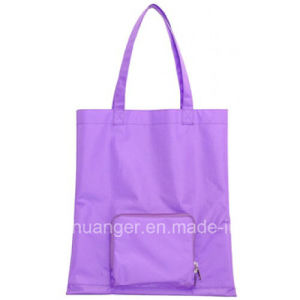 New Arrivals Promotional Folding Shopping Bag / Polyester Foldable Tote Bag
