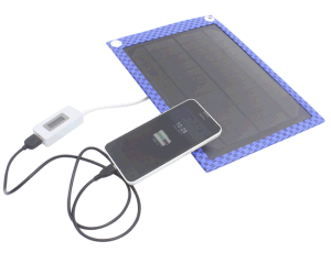 Smart Solar Mobile Phone Power Bank Charger 2W 5V/400mA pictures & photos