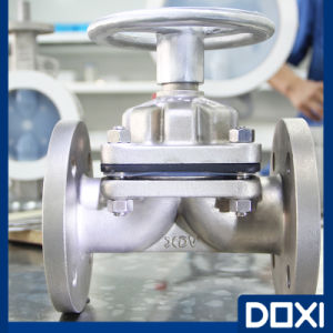 Atex PFA Euro Diaphragm Valve pictures & photos