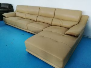 Sofa Furniture Set, Real Leather Sofa, L Shape Leather Sofa (650) pictures & photos