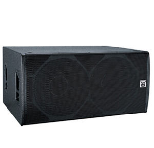 Big Powered Sub-Bass Speaker for Line Array Sysyem T-218 pictures & photos