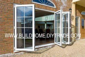 Maximum Openess Sliding Folding Aluminium Door pictures & photos