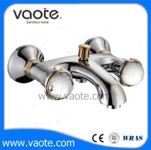 Double Handle Brass Body Shower Faucet (VT60701) pictures & photos