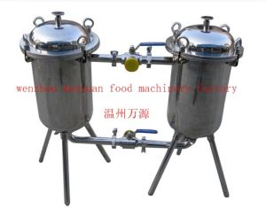 Stainless Steel Sanitary Duplex Filter pictures & photos