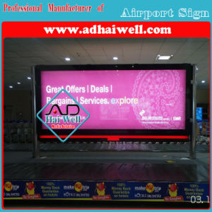 Airport Media Advertising Scroller LED Light Box pictures & photos