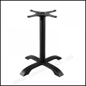 Modern Black Cross Cast Iron Table Base (SP-MTL131) pictures & photos