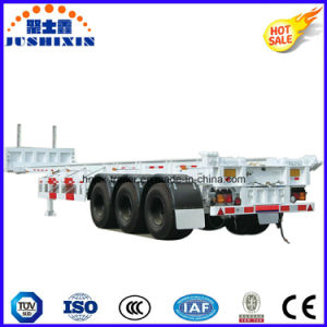 Tri Axles 45t Transport Wagon Truck Trailer Semi Trailer pictures & photos