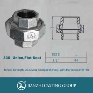 Malleable Iron Pipe Fittings Union pictures & photos
