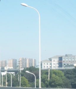 Outdoor Lighting Bending Curved Lighting Pole pictures & photos