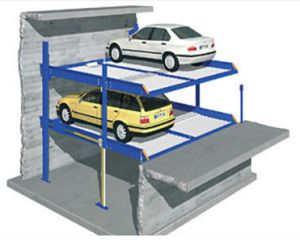 Car Parking Lift in Pit for 4 Cars pictures & photos
