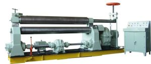 China Cheap Metal Rolling Machine, Symmetric Rolling Machine with Three Rollers pictures & photos