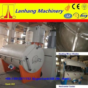 Plastic PVC Powder Turbo Mixer Horizontal Cooler pictures & photos