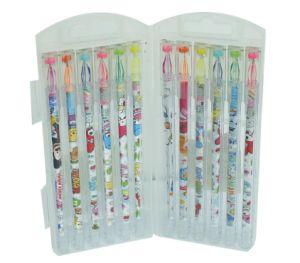 Diamond Point Gel Ink Pen Set 12 PCS/Box, Highlighter Gel Ink Pen pictures & photos