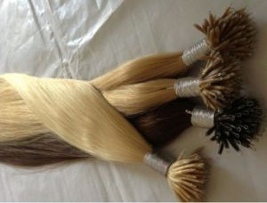 Higher Quality Micro Bead Keratin Human Hair Extensions pictures & photos