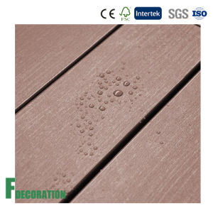 Waterproof Cheap Price Noise Absorbing Recyclable WPC Decking pictures & photos