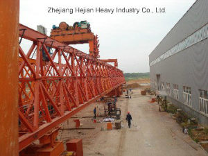 240t-40m Separate Parts of Bridge Launching Gantry Crane pictures & photos