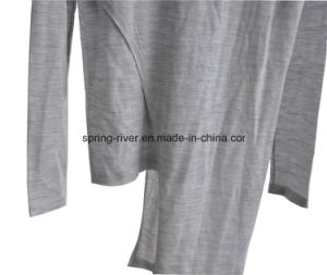 100%Wool Spring False Two-Piece Knitwear Fashion Clothing pictures & photos