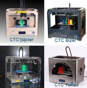 High Quality Wooden Desktop 3D Printer Machine with ABS PLA Filament