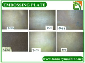 Emboss Plate for Leather Tannery Machine