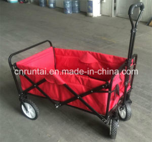 Hot Sell Good Function Construction Folding Wagon (TC2015) pictures & photos