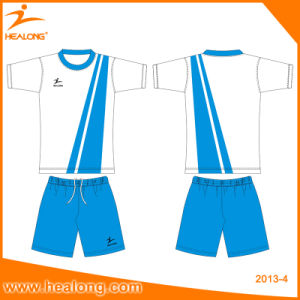 Healong Custom Sublimated Soccer Jersey pictures & photos
