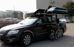 Wheelchair Storage System on Car Roof pictures & photos