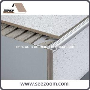 Silver Aluminium Stair Ceramic Tile Trim