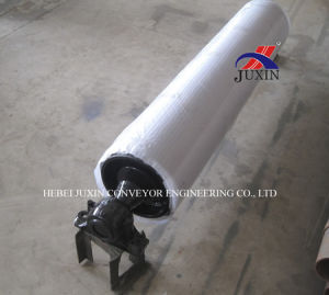 Belt Conveyor Pulley with Rubber Lagging pictures & photos