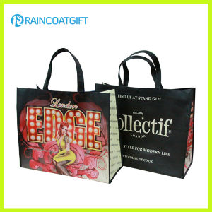 Promotional Lamination Non Woven Bag with Cmyk Full Logo Printing pictures & photos