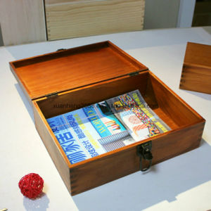 Exclusive Custom Bulk Wooden Boxes pictures & photos