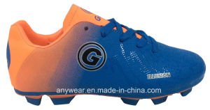 Children Soccer Football Boots Kid′s Sports Shoes (415-9467) pictures & photos