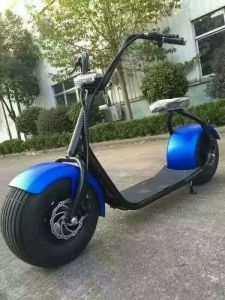 Fat Tire 18*9.5 Inch Electric Scooter Harley 1000W pictures & photos