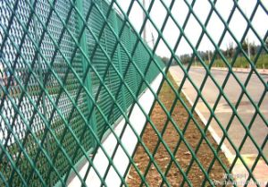 Expanded Mesh Fence Used for Protection pictures & photos