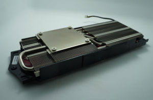 Computer Cooling Fan Heat Sink with Sintered Heat Pipes pictures & photos