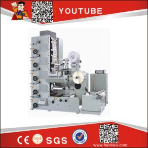 Automatic Labels Flexo Printing and Making Machine pictures & photos