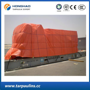 Ship Cover Durable Fireproof Glass Fiber Waterproof PVC Tarpaulin pictures & photos