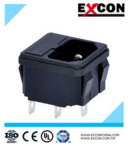 Electronics Socket Outlet Excon S-03f-12-4 Three-in-One Series